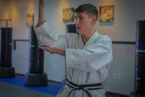 Karate Black Belt test