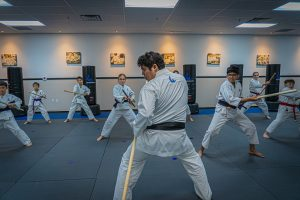 Bo Staff Karate