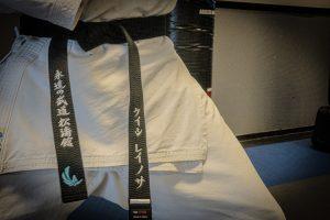 Black Belt in Karate