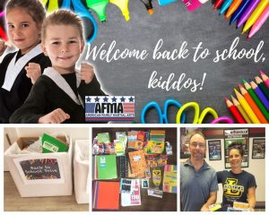school supply drive by AFMA