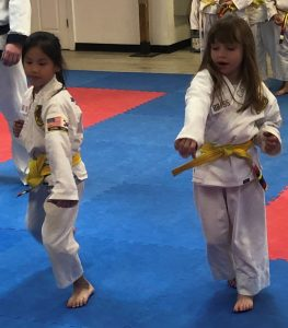 karate girls ages 7-12