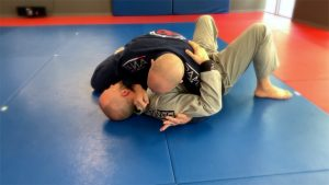 Lapel Choke Submission