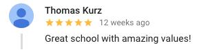google review kids martial arts