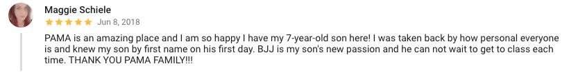 google reviews kids martial arts