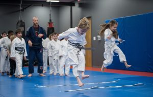 Jumping the Creek-Kids Martial Arts