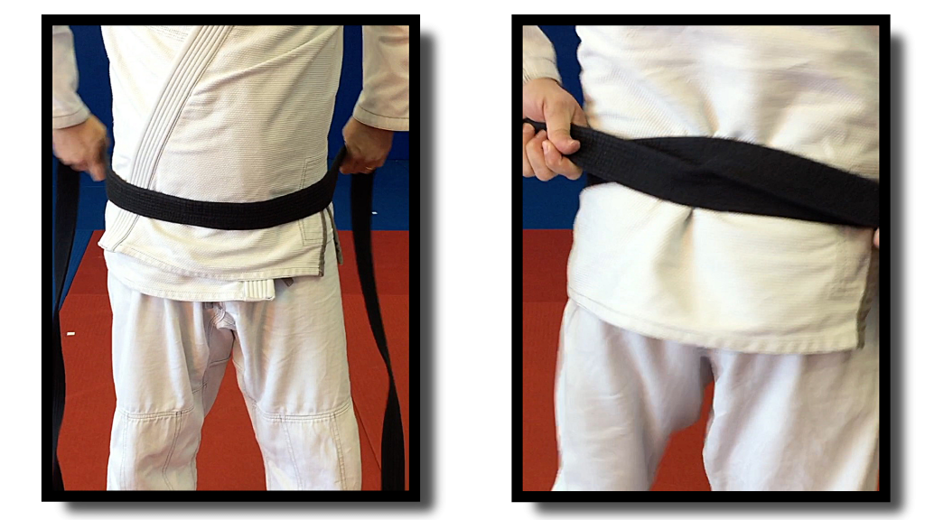 Learn to tie your belt the easiest way