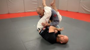 switch position - go for armbar
