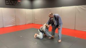 ANKLE PICK TAKEDOWN