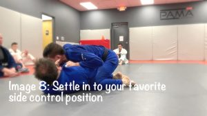 settle into side control