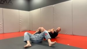 Fall back for armbar