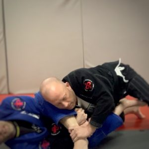 Unable to finish armbar