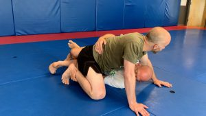 technique 3 trapping foot