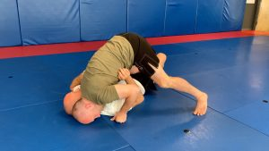 Technique #5: Forehead to mat pass