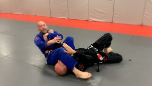 Fall back for the Armbar.