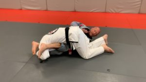 Step #6: Falling to the shoulder. If you are able to catch the armbar here great.