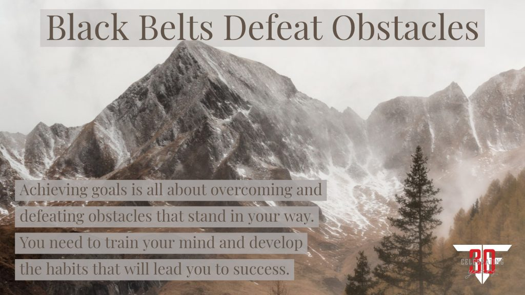 defeating obstacles