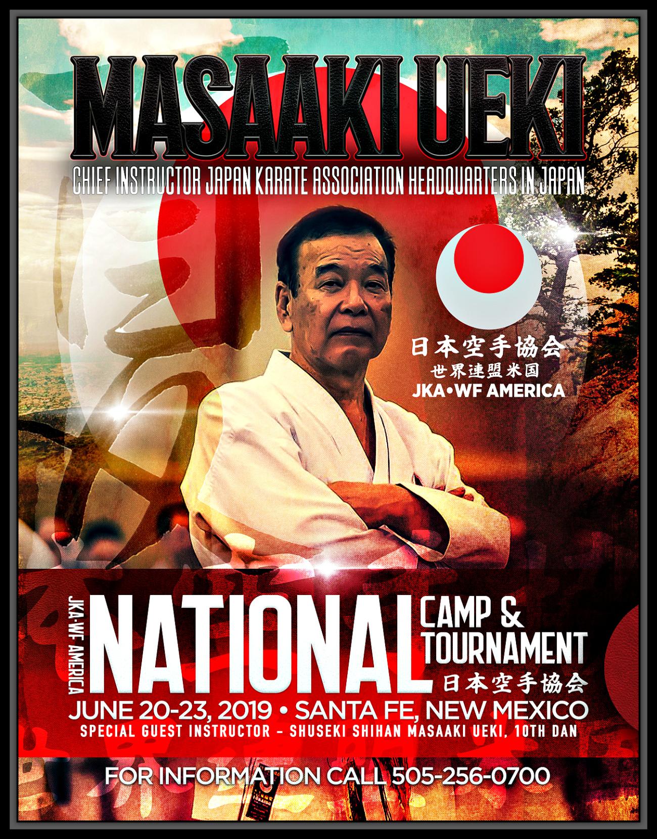 National Camp & Tournament: June 20-23, 2019   Shotokan