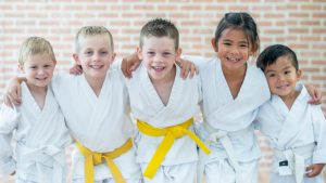martial arts empower kids to succeed