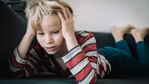 children have stress too