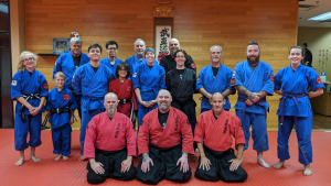 Budo shingikan group photo of all ages