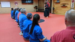 kaiso teaching martial arts principles