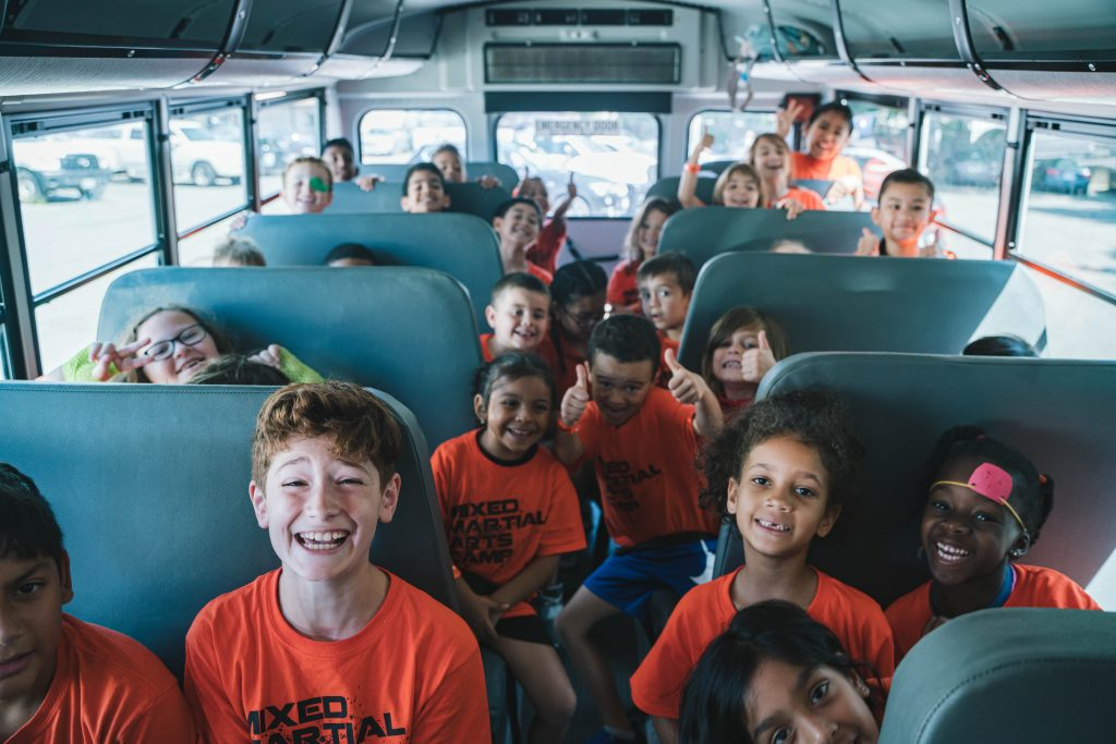 Summer Camp Bus