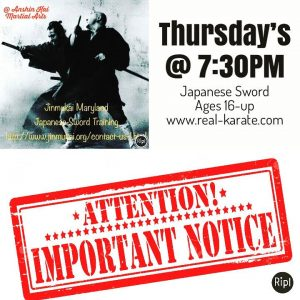 Japanese Sword Classes! | Anshin Kai Martial Arts