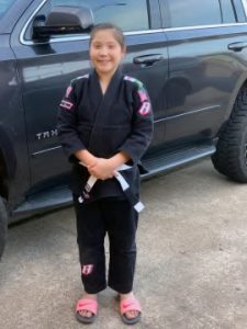 Texarkana Brazilian Jiu Jitsu Student Emily