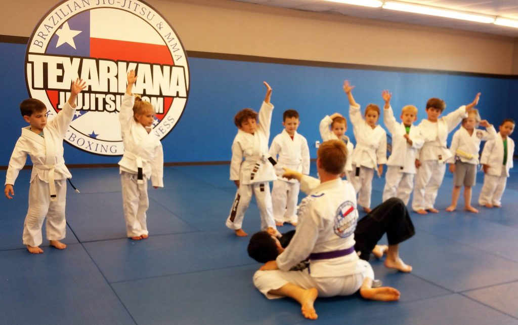Texarkana Jiu Jitsu kids BJJ martial arts class