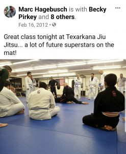 Texarkana Jiu Jitsu 5 BJJ black belts training in texarkana