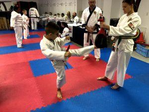 testing on karate skills